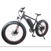 Buy cheap Geared Electric Fat Bike 48v 750w With Sinewave System , High Speed 35-40km/h from wholesalers