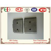 Wholesale Ni-hard White Iron Mixer Blades with Investment Cast Process EB35001 from china suppliers