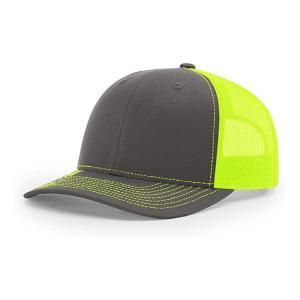 Wholesale Custom 6 Panel Richardson 112 Snapback Hat Plain Blank Black Mesh Trucker Cap from china suppliers