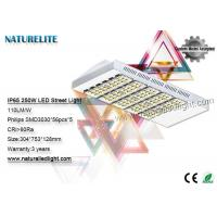 Buy cheap 250 W No Glare High Power Led Street Light Exterior Warm / Natural / Cold White from Wholesalers