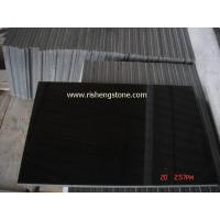China Black Granite Shanxi Black - Absolute Black Granite Tile on sale
