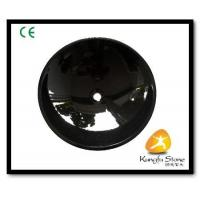 China Xiamen Kungfu Stone Ltd supply Shanxi Black Granite Sink For Indoor Kitchen,Bathroom on sale
