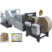 Wholesale Servo motor control high speed automatic food kraft paper bag making machine from china suppliers