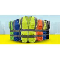 Wholesale High visibility workwear safety vest with pockets reflective vest from china suppliers