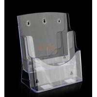 Wholesale 2 Layers Acrylic Brochure Holders Leaflet Display Transparent Light from china suppliers