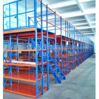 China Hight quality heavy duty pallet racks supported mezzanines floors warehouse multi-level attic shelf for sale