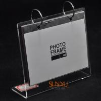 Wholesale Durable Custom Picture Frames/ Acrylic Photo Frames Logo Printing from china suppliers