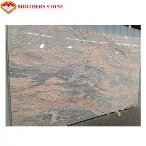 Wholesale Exterior Polished Granite Stone , Juparana Pink / Juparana Colombo Granite from china suppliers
