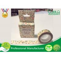 Wholesale DIY Japanese Washi Masking Tape 1.5cm X 10m For Wall Decorative And Gift Box from china suppliers