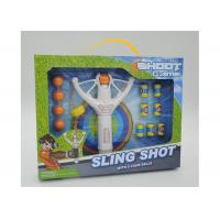 "Wholesale Super Power 8 "" Flying Kids Slingshot Toys With 5 Foam Balls And 6 Targets from china suppliers"