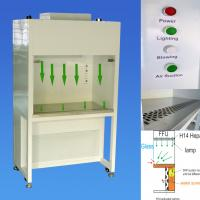 Low Profile Ceiling Module, Hepa Filter Laminar Flow Cabinet With Stainless Steel Surface for sale