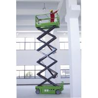 China Electric Man Lift 10 Meters, Self propelled Scissor Lift With Extendable Platform for sale