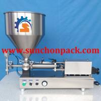 Automated Molasses / Gel Ice Pop / Jam Packing Filling And Sealing Machine