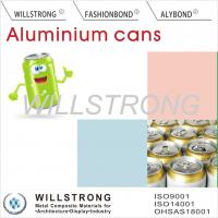 Wholesale Acid Or Alkali Proof Color Coated Aluminum Coil For Beer Cans / Aluminium Colour Coated Sheet from china suppliers