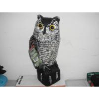 Buy cheap Plastic Owl decoy for garden protection from wholesalers