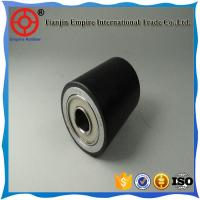 Wholesale ISO manufacturer black/customized thick wall rubber carrier roller from china suppliers