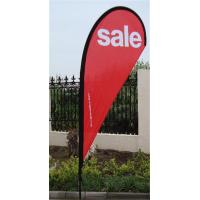 Wholesale Dye Sublimation Printing Teardrop Flag Banner from china suppliers