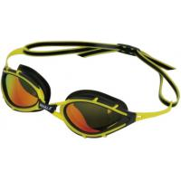 Wholesale Womens Polarized Anti Fog Swimming Goggles Yellow , UV Protection from china suppliers