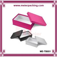 Wholesale Apparel/Clothing packaging flip lid paper gift box, luxury paper custom shoe box  ME-TB051 from china suppliers
