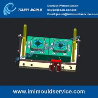 Wholesale 2 cavity thinwall container mould design, iml containers mould design, 250g iml containers from china suppliers