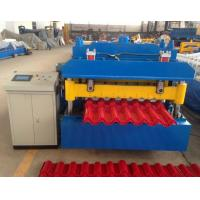 Wholesale Steel Step Tile Making Machinery / Glazed Tile Cold Rolled Forming Machine from china suppliers