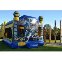 Buy cheap Tarpaulin Sewing Batman C4 Combo Inflatable Jumping Castle For Backyard from wholesalers