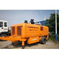Wholesale Zoomlion Trailer Mounted Concrete Pump HBT110-26-390RS With 800L Hopper from china suppliers
