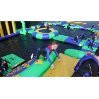 China Amazing Inflatable Water Parks Projects For Adults And Kids CE UL on sale