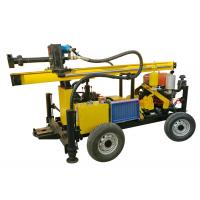 Wholesale TWD100B Small Portable Water Well Drilling Rig Machine Trailer Mounted from china suppliers