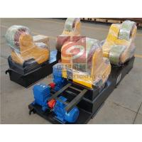 Buy cheap 40T Self Aligning Rotators Automatic Pipe Welding Center 600--4200mm from Wholesalers
