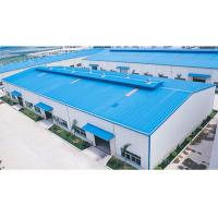 China Q235B / Q355B Prefab Steel Buildings Construction Steel Structure Factory Buildings for sale