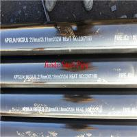 Buy cheap ASTM A106 seamless steel pipe for oil and gas pipeline with ISO CE API Certificate from wholesalers