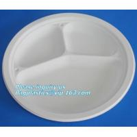 China round eco friendly corn starch plates restaurant disposable plates,Safe product biodegradable salad plate biodegradable on sale