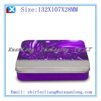 Wholesale Rectangle chocolate packing tin box from china suppliers