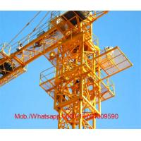 Wholesale 2 - 25T Lifting Hydraulic Self Raising Telescopic Jib Crane / Tower Crane Construction from china suppliers