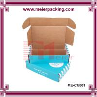 Wholesale custom made brown paper box/print paper display box carton box corrugated box ME-CU001 from china suppliers