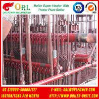 Oil Industry Heating Boiler Steam Super Heater 110 MW Rate Factor Heating Elements