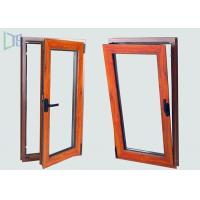 European Style Aluminium Tilt And Turn Windows with Two Open Way Double Glazing for sale
