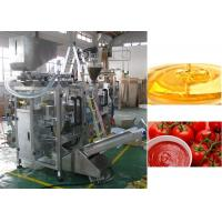 Quality Stainless Steel Automatic Liquid Pouch Packing Machine 0.5 - 1% High Accuracy for sale