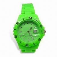 Wholesale Fashionable Quartz Watch with Japanese Multifunction Movement, Customized Logos Welcomed, Waterproof from china suppliers