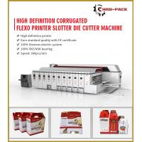 Wholesale 2019 HRB PACK High Defination Flexo Printing Machine/Automatic 5 Colors Printer&Slotter&Die Cutter from china suppliers
