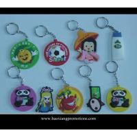 Wholesale eco-freindly professional keyring supplier OEM custom soft pvc keychain from china suppliers