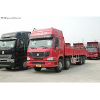 Wholesale 280HP 4 x 4 HOWO Heavy Duty Dump Truck White / Red EURO II 50 Ton from china suppliers