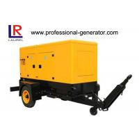 Wholesale 200kVA Silent Trailer Generator Set with Radiator Cooled Electrical Cummins Engine from china suppliers