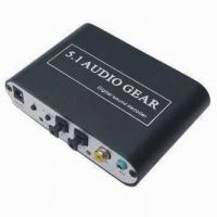 Wholesale 5.1Channel DTS AC-3 Digital Audio Gear Decoder Sound 3X 3.5mm Output SPDIF PS3 from china suppliers