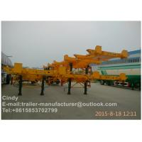 International Standard Container Trailer Chassis For Loading 20ft 40ft
