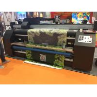 Wholesale Double Vision Fabric Plotter , Automatic  Inkjet Fabric Printing Machine from china suppliers