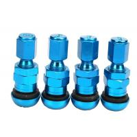 Wholesale High Strength Chrome Valve Stem CoversMetal Valve Mouth With Rubber Pad from china suppliers