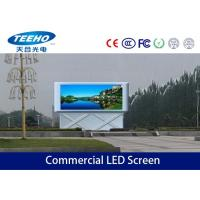 Wholesale Waterproof Commercial LED Screen Display P10 For Outdoor , Advertising Led Displays 6500CD from china suppliers