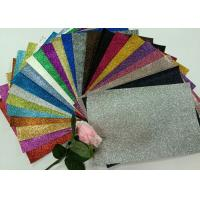 """Wholesale 1/128"""" Glitter Mixed Colors PU Glitter Fabric PU Cloth Backing For Christmas Box from china suppliers"""